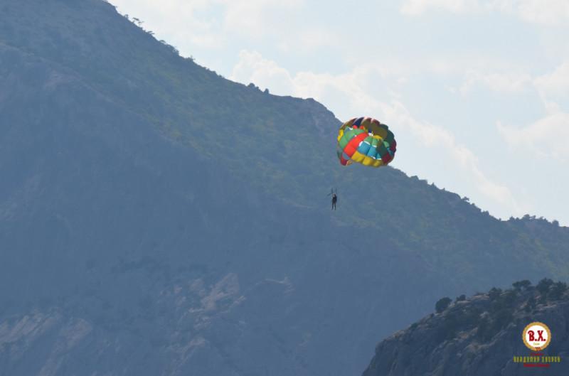 Полёт на высоте 500 м длится 10 минут