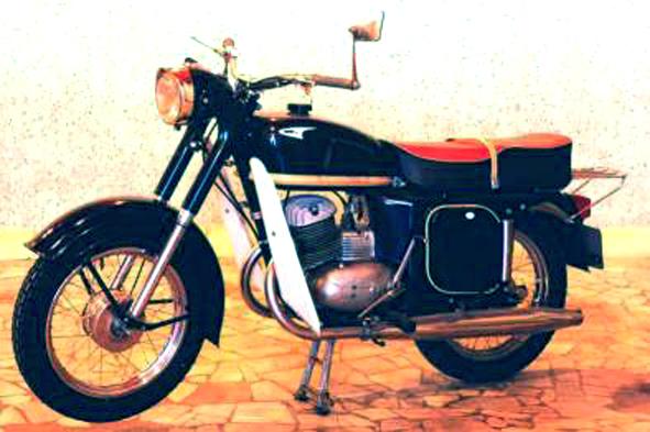 Мой первый мотоцикл