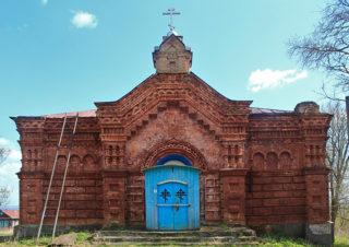 Церковь Николая Чудотворца. Барышская Слобода, Сурский район, Ульяновская область. Снято: 2 мая 2014
