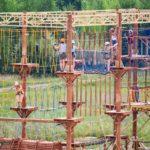 Верёвочный парк в г. Бор