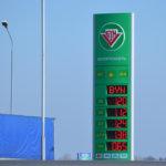 Сегодня цены на топливо вот такие