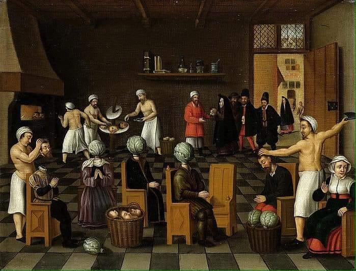 Ян ван Векелен / Корнелис ван Далем. Пекарь из Экло. Середина XVI века.