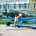 Легендарные Ла-7 строили в Горьком, а испытывали, обучали лётчиков и отправляли на фронт полки с аэродрома на ст. Сейма (г. Володарск)