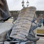 Фонтан с фигурой пророка Моисея на территории Храма-Памятника в честь Всех Святых и в память о жертвах, спасению Отечества нашего послуживших
